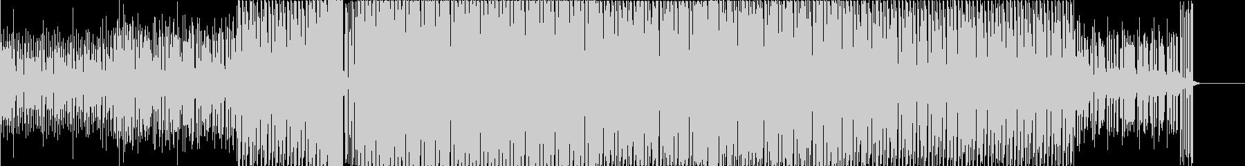 アンニュイな雰囲気を放つ最高クールBGMの未再生の波形