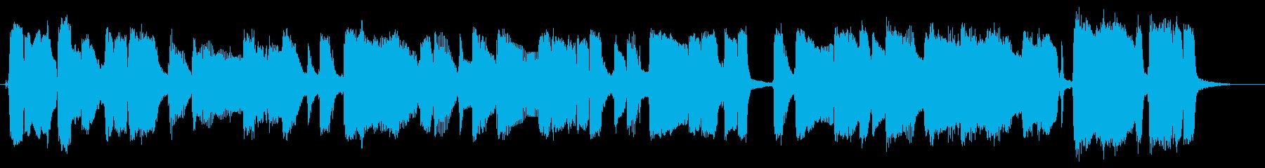 エレクトリックギター:ロングブルー...の再生済みの波形