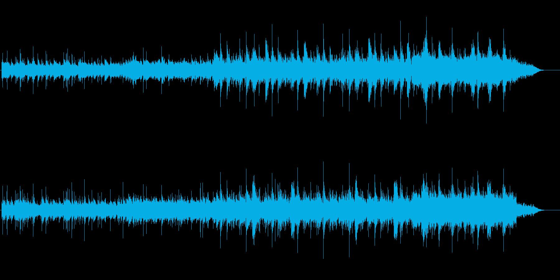静かで幻想的、神秘的なBGMの再生済みの波形