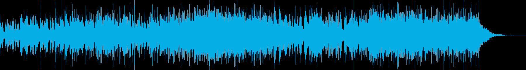 前向きになれそうなピアノ楽曲の再生済みの波形