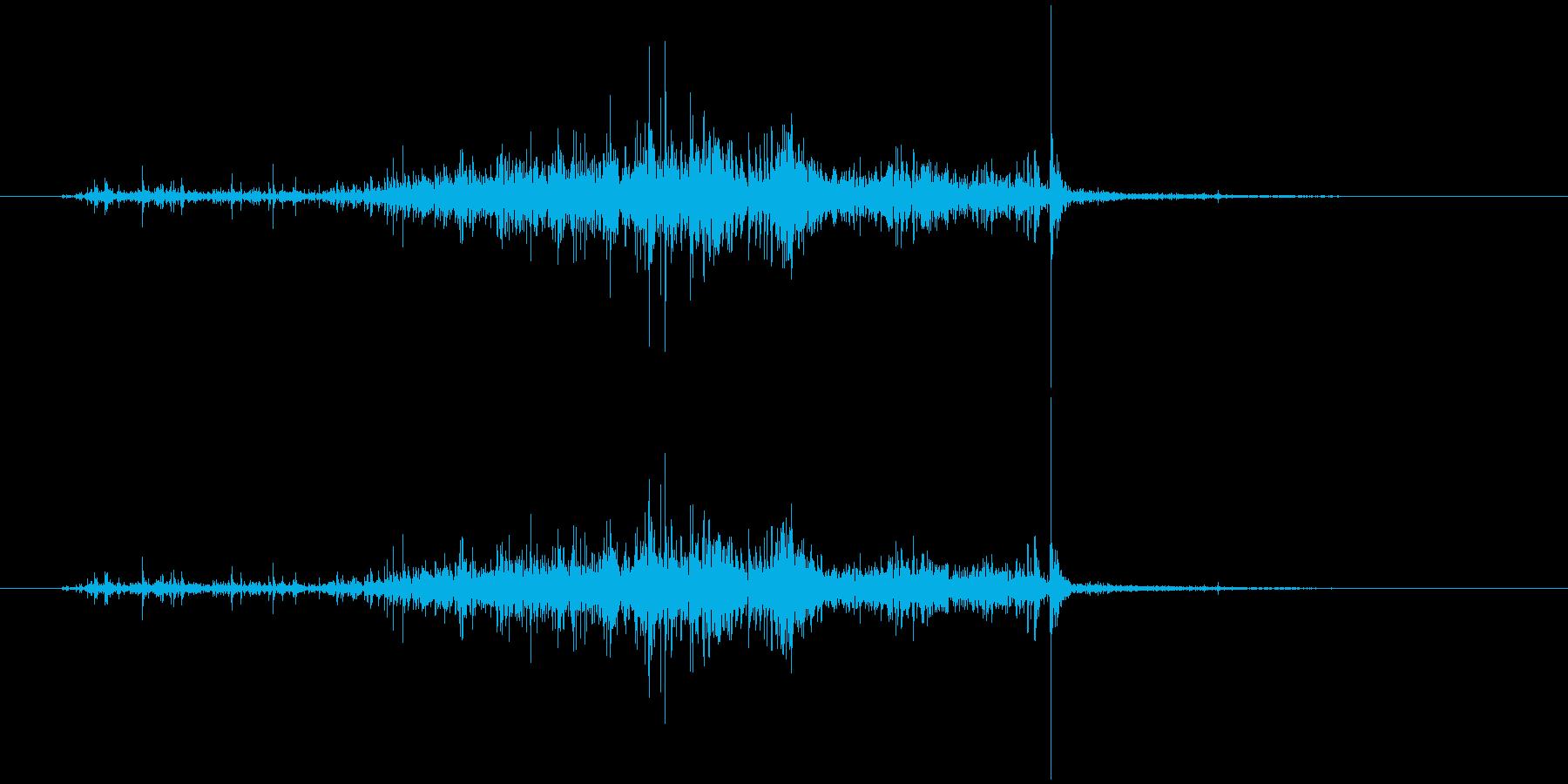 ハサミ 切る (ジャキッ) の再生済みの波形