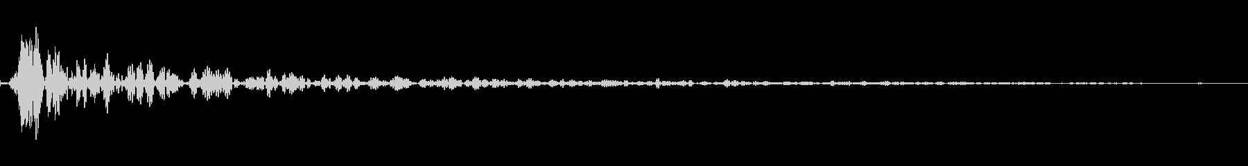 インパクトスリンキーサブクワッドTの未再生の波形