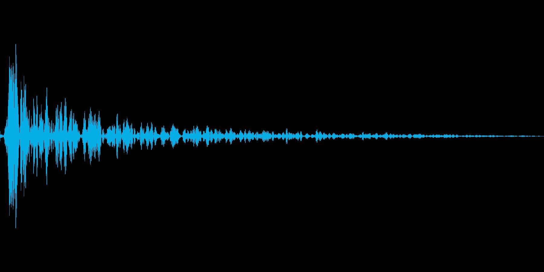 インパクトスリンキーサブクワッドTの再生済みの波形