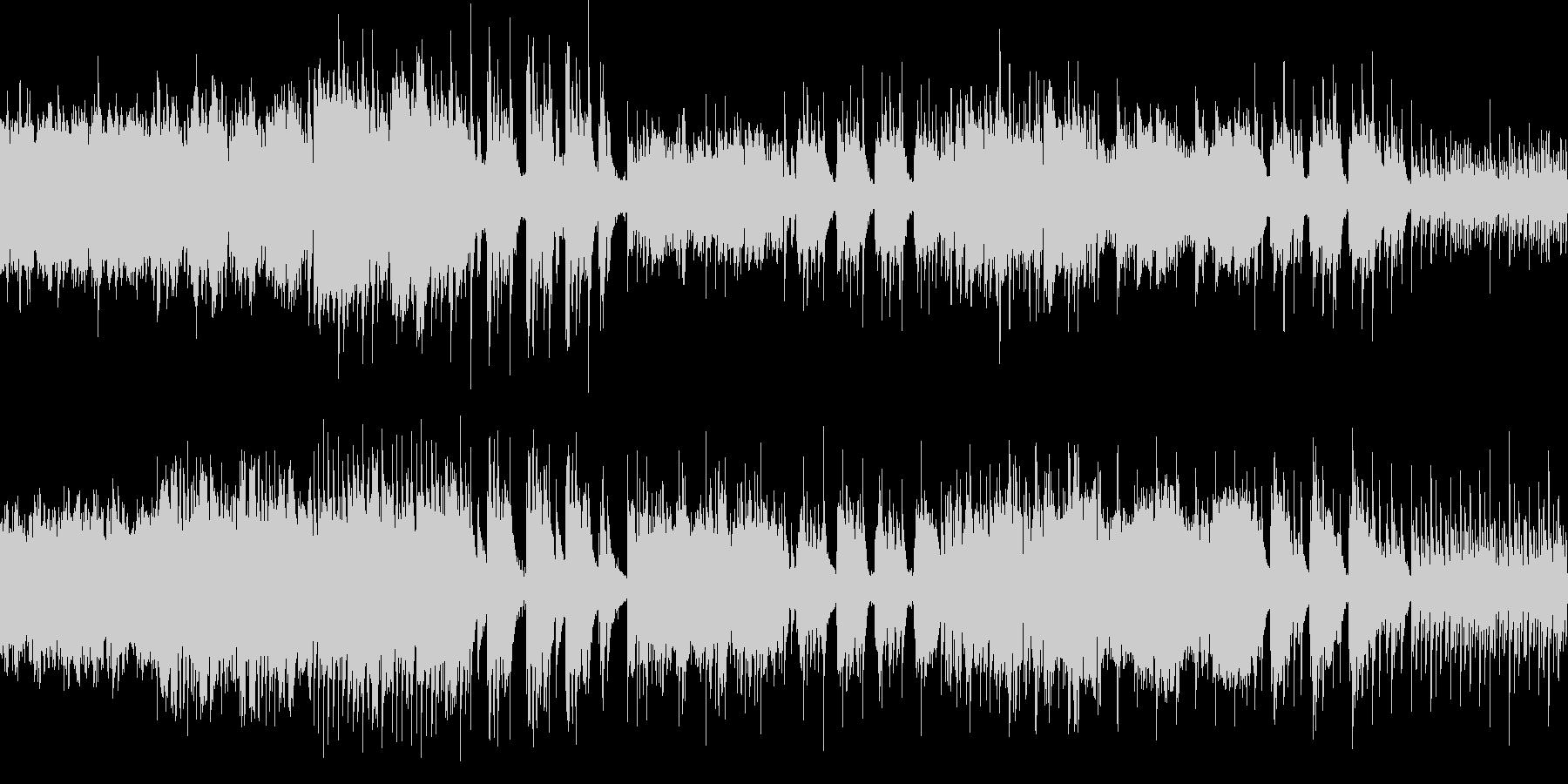 幻想的な雰囲気のバラード(ループ仕様)の未再生の波形