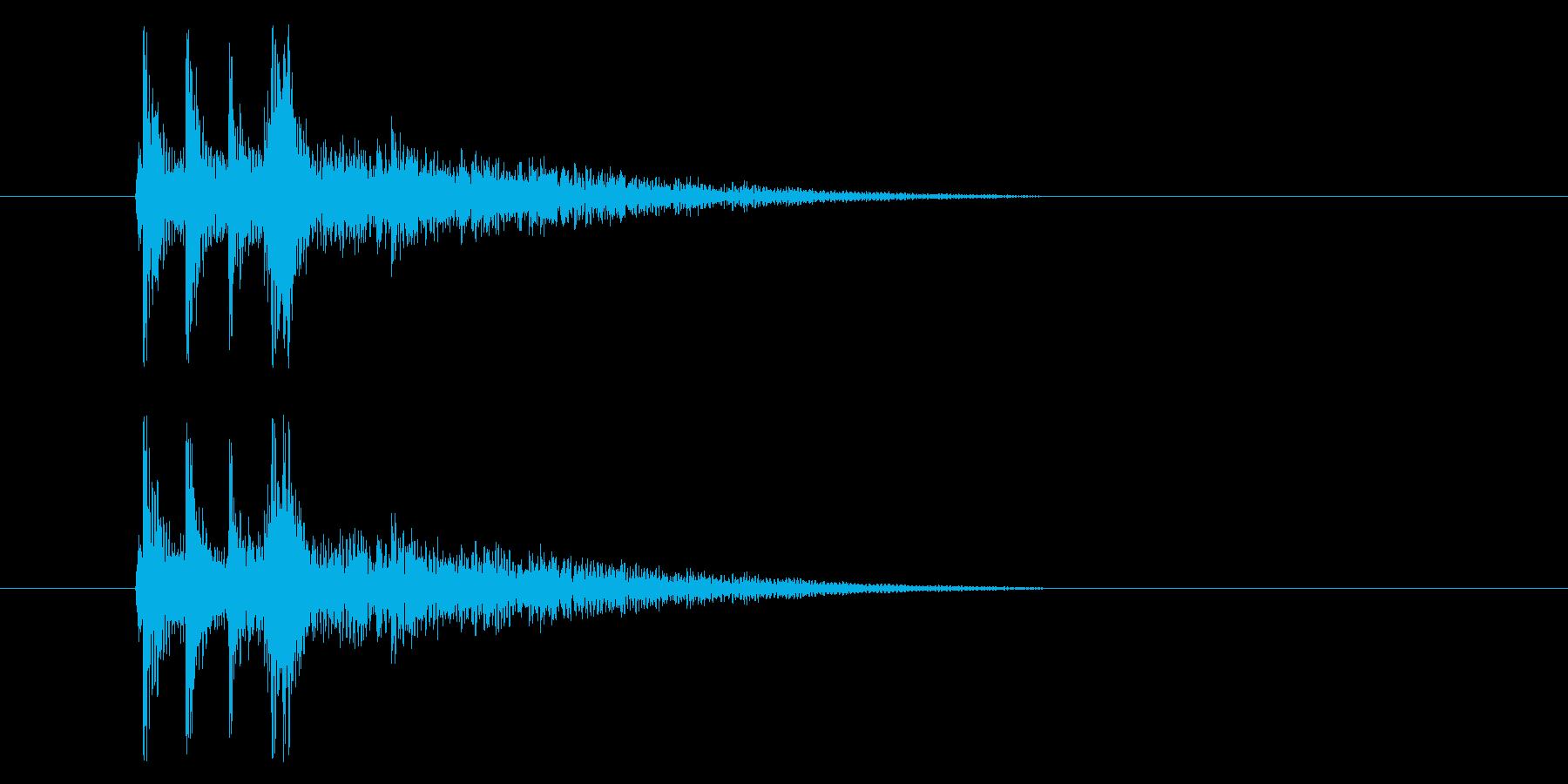 三味線_和_場面展開の再生済みの波形