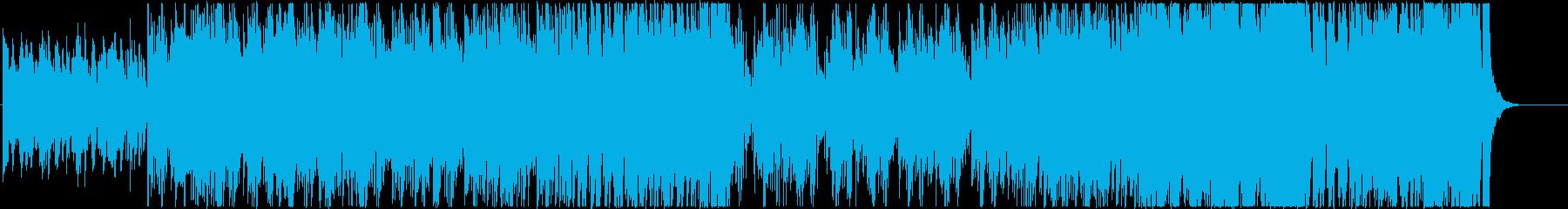 不穏/緊迫/スリリングなエレクトロタンゴの再生済みの波形