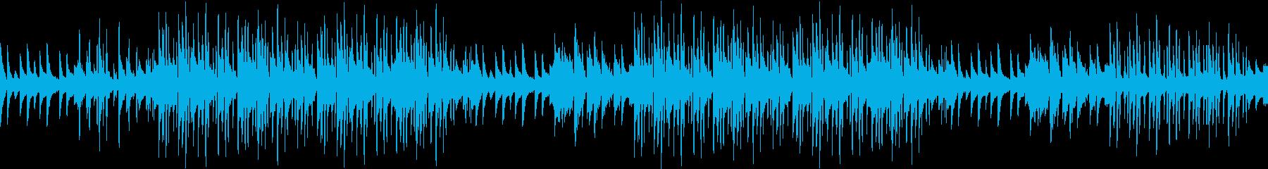 エンディング・感動・ピアノ・青春・ループの再生済みの波形