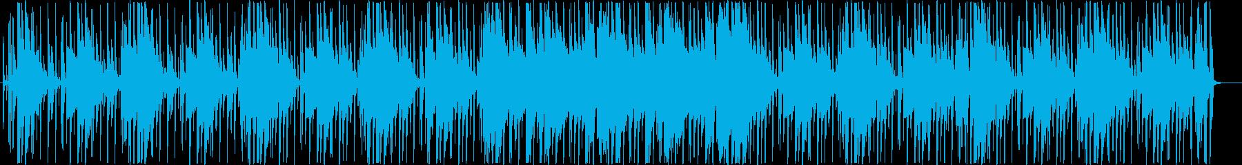 お洒落な雰囲気のチルアウトHIPHOPの再生済みの波形