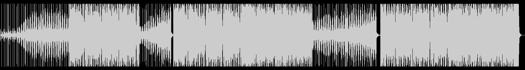 駆け抜けるエレクトロの未再生の波形