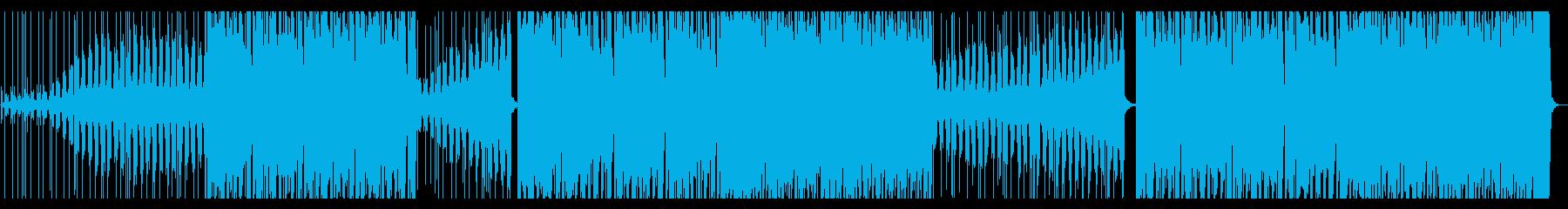 駆け抜けるエレクトロの再生済みの波形