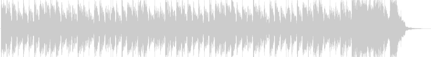 シンセブラスのロックのんの未再生の波形