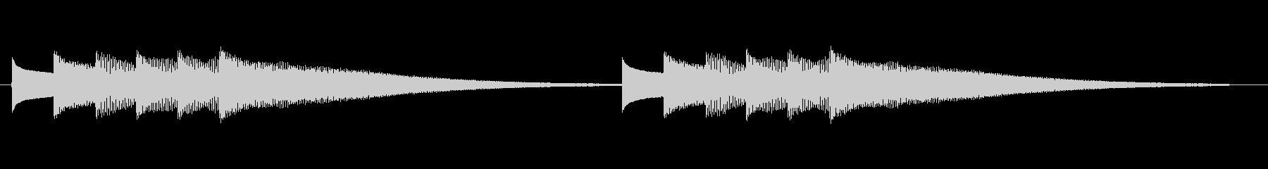 ピロリロリーンの未再生の波形