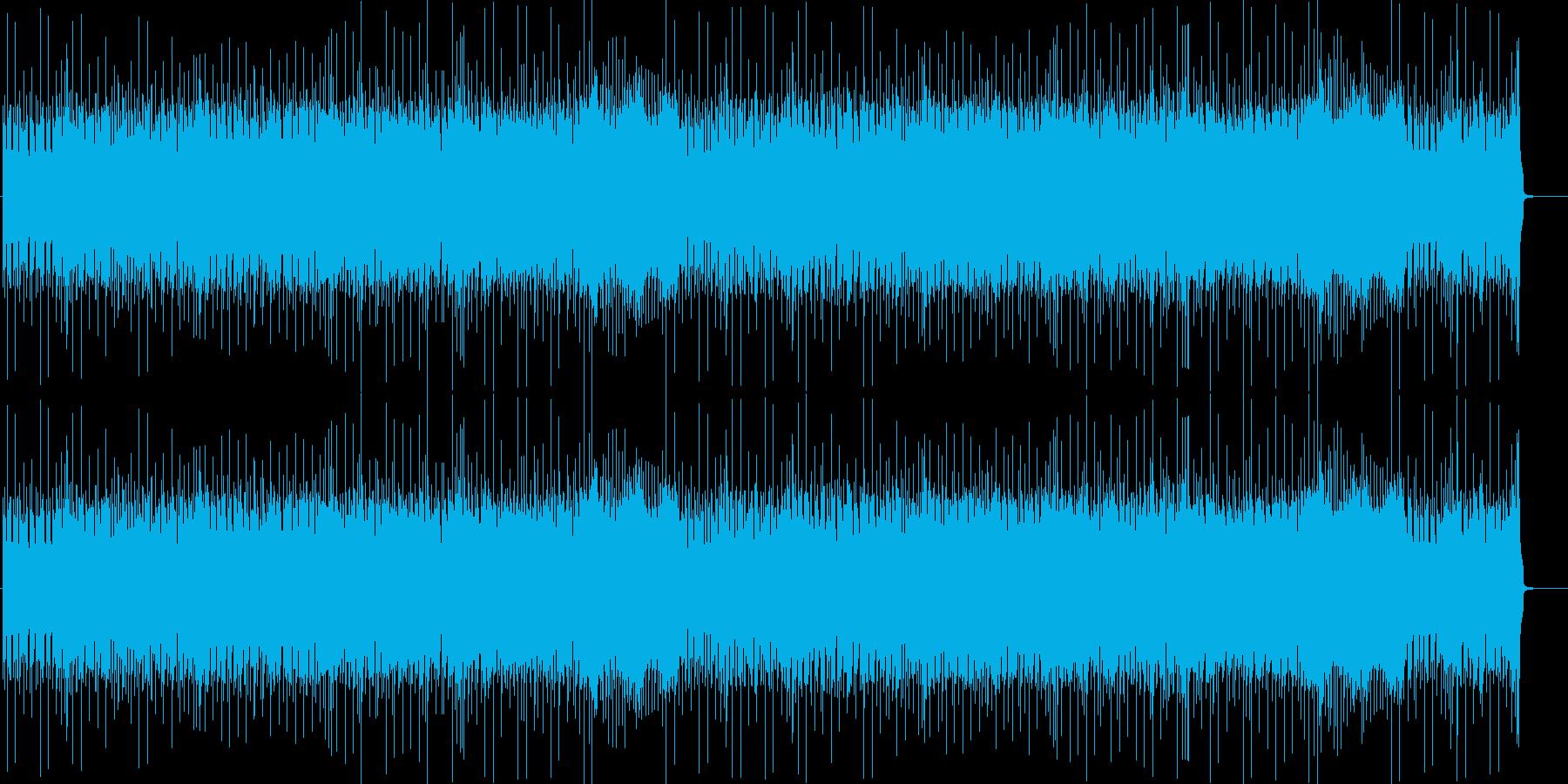 ロックマンみたいな曲です。の再生済みの波形