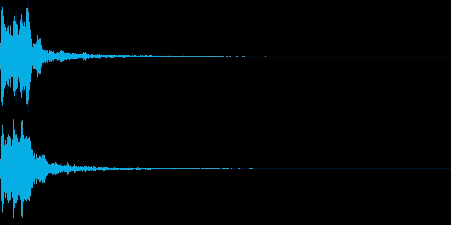 キラキラ ベル アナウンス 情報 08の再生済みの波形