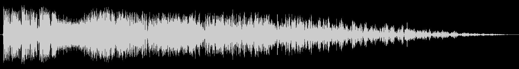 プロモーショントップ2の未再生の波形