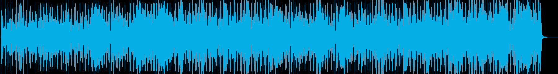 サウンドデザインエフェクトと陰気な...の再生済みの波形
