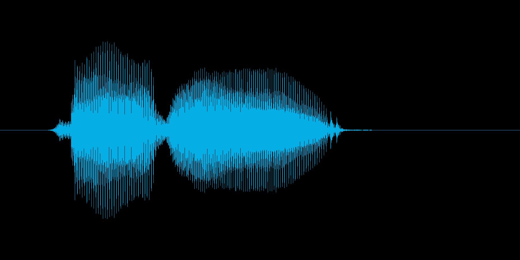 レゲェの再生済みの波形