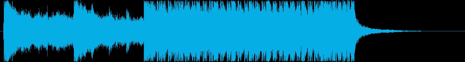 ジングル - 怒りの再生済みの波形