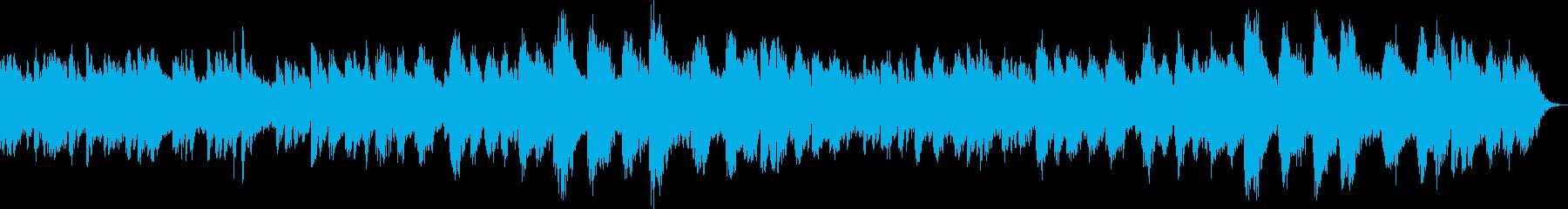 感動的な温かいメロディーリラックス...の再生済みの波形