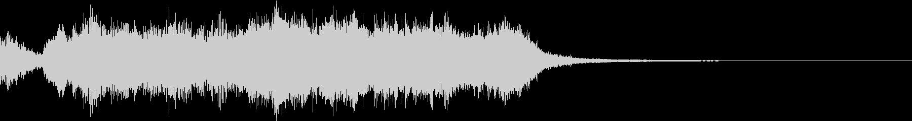 ファンファーレ系オーケストラの未再生の波形