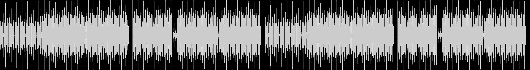 本格的ファミコンでハロウィン・ループの未再生の波形