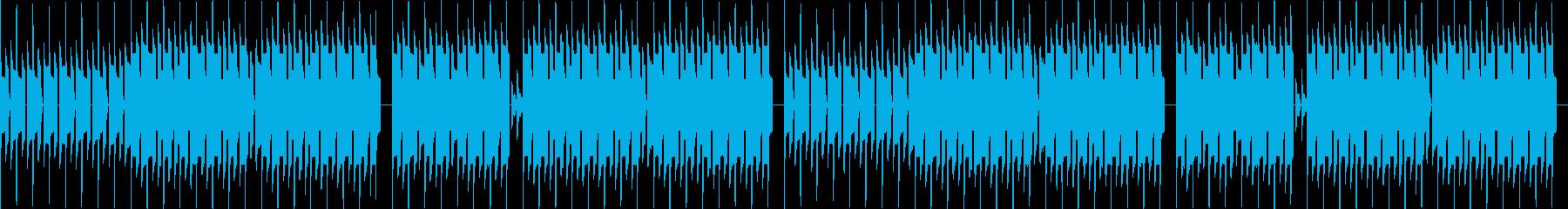 本格的ファミコンでハロウィン・ループの再生済みの波形