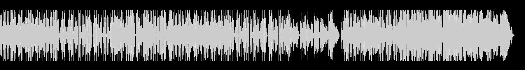 【メロ・パーカッション無】スローファンクの未再生の波形