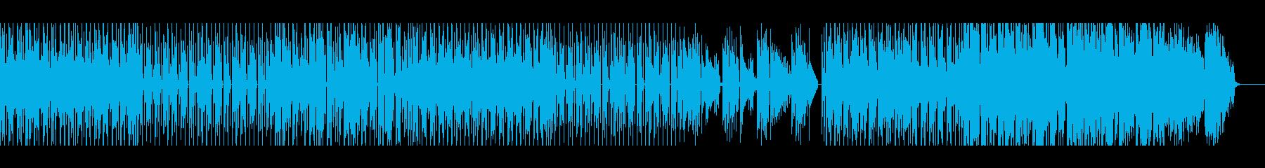 【メロ・パーカッション無】スローファンクの再生済みの波形