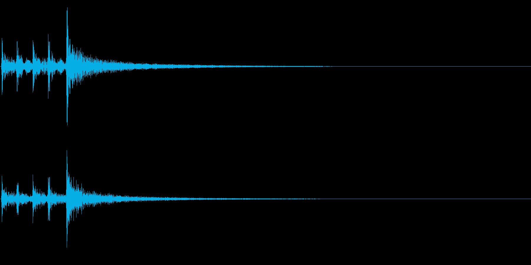 ティンパニ、(手)、ファイナルヒッ...の再生済みの波形