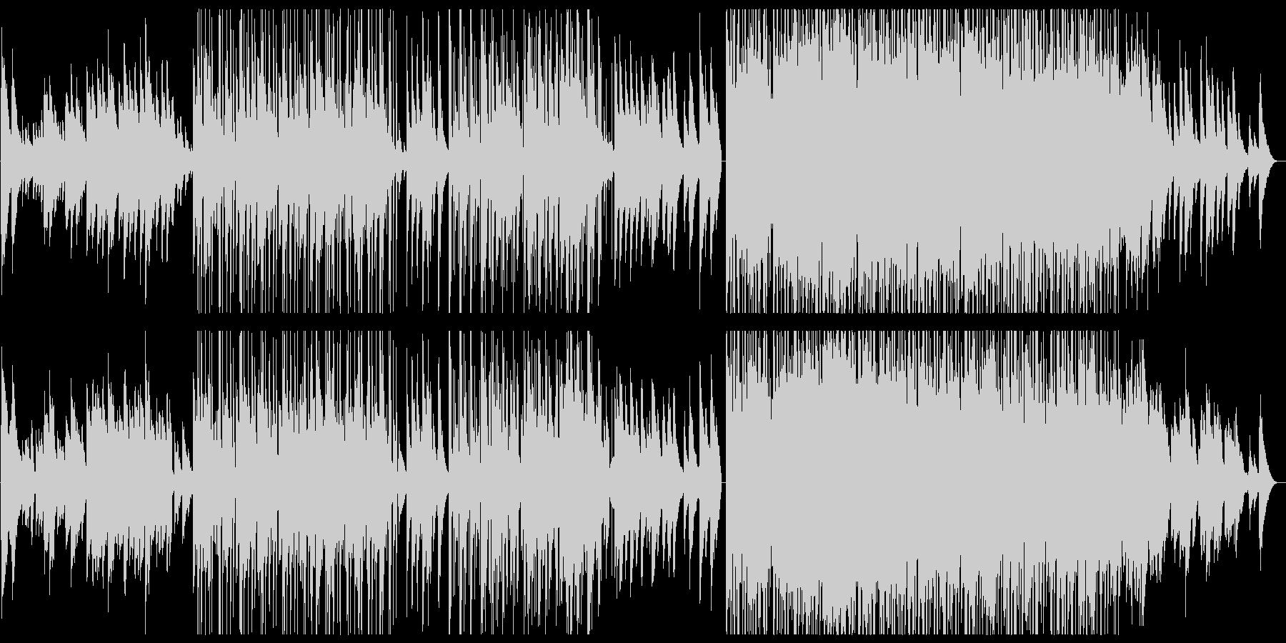 和風音階 桜 銀杏 エレクトロニカの未再生の波形