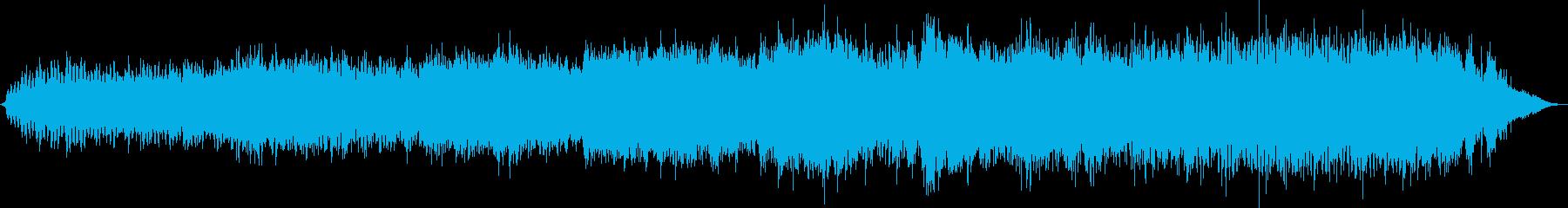 古代や異国を感じさせる電子音楽の再生済みの波形