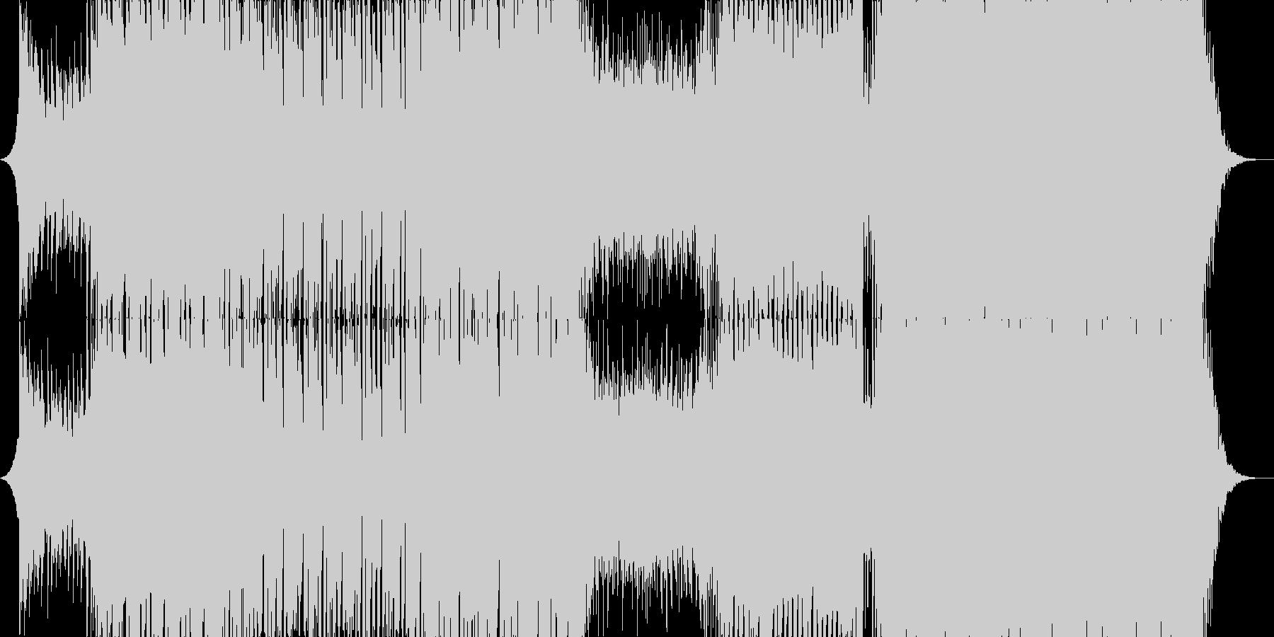 アガる王道EDM/House/Pianoの未再生の波形