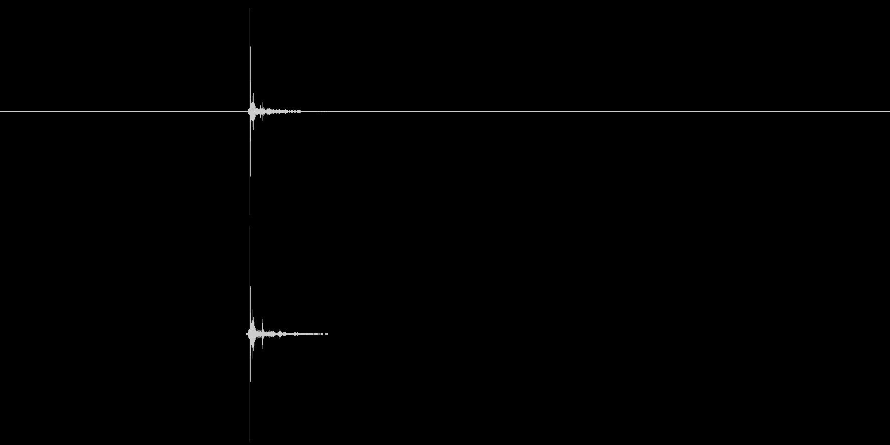 ワイヤーカッター:黄色いワイヤーの...の未再生の波形