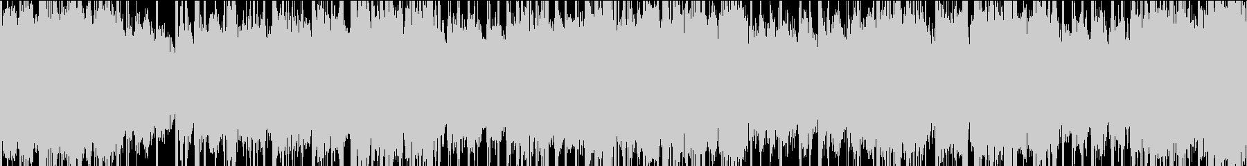 クールなタイトル画面BGM【ループ対応】の未再生の波形