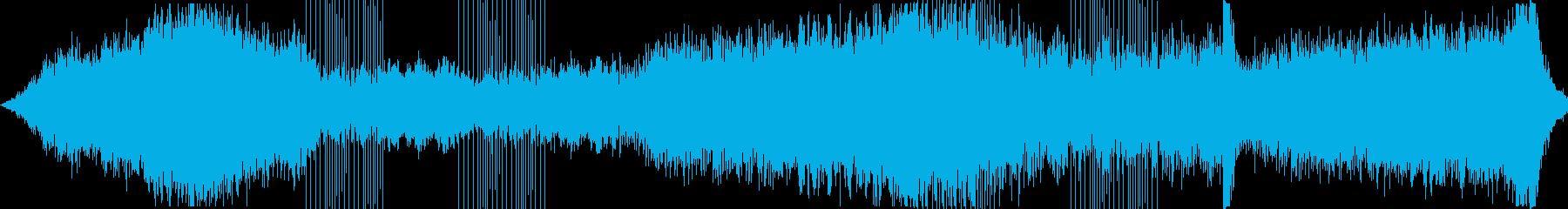 ダークファンタジーなアンビエントテクノの再生済みの波形