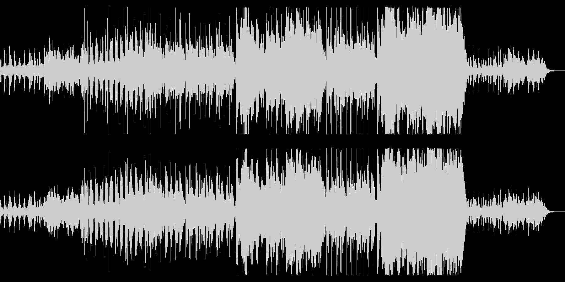 琴と尺八が壮大で切ない感動の和風の未再生の波形