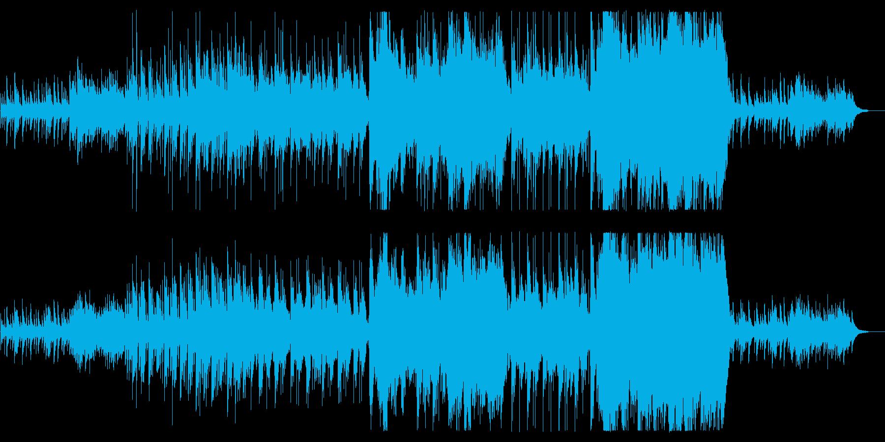 琴と尺八が壮大で切ない感動の和風の再生済みの波形
