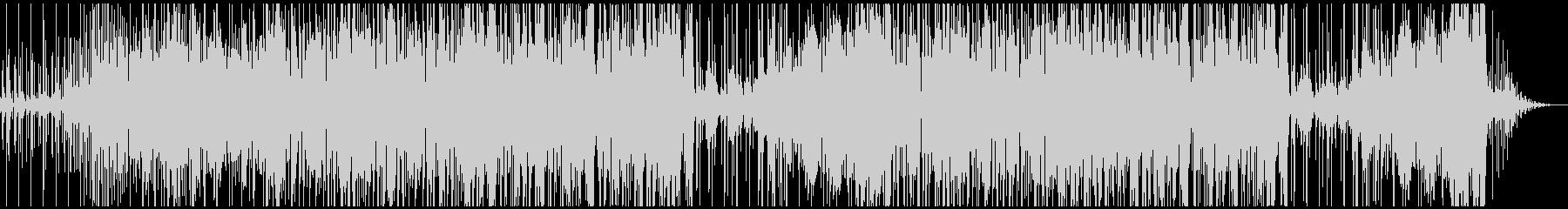 レゲエ、ダブ系インストBGMの未再生の波形