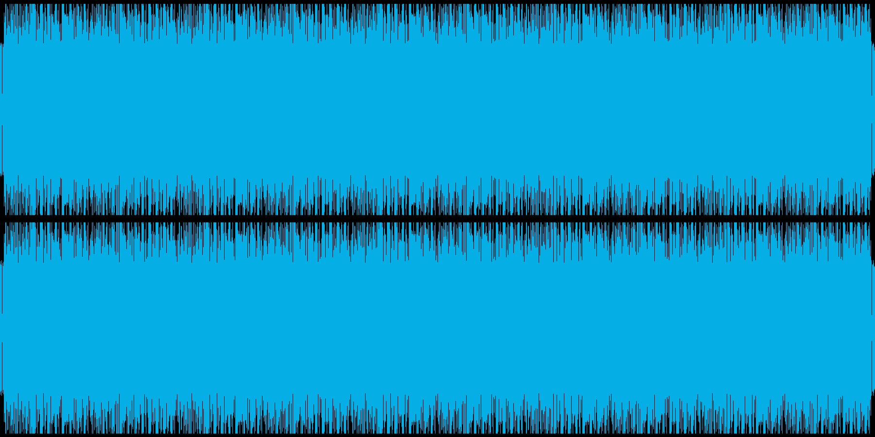 ほのぼのレゲエ風BGM【生演奏ギター】の再生済みの波形