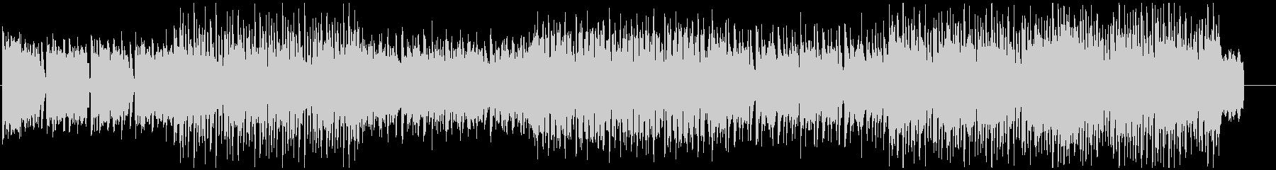 ハイテンションデジロックBGMの未再生の波形