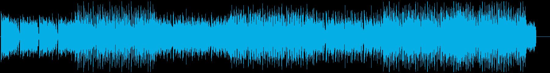 ハイテンションデジロックBGMの再生済みの波形