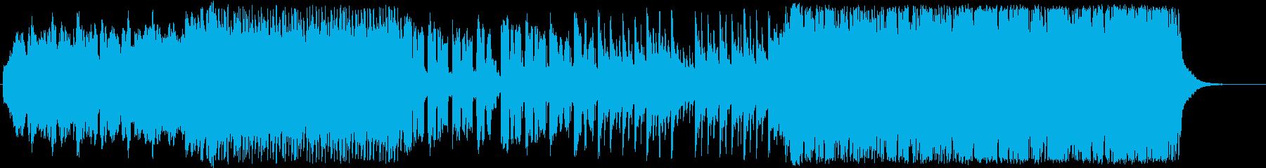 尺八の優しい和風リラックスの再生済みの波形