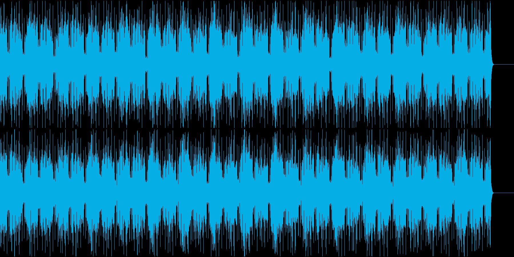 幻想的で浮遊感のあるダブステップの再生済みの波形