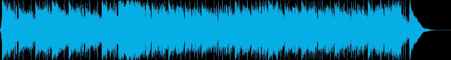 企業VP ギターアンビエントポップ60秒の再生済みの波形