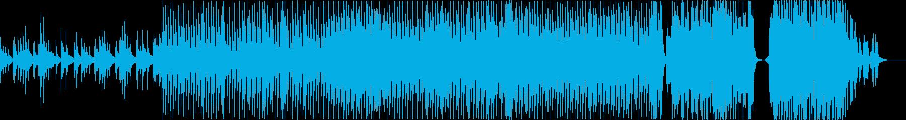 企業VP/OP映像に最適な壮大なBGMの再生済みの波形