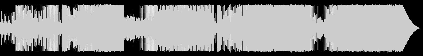 90年代風EDMの未再生の波形