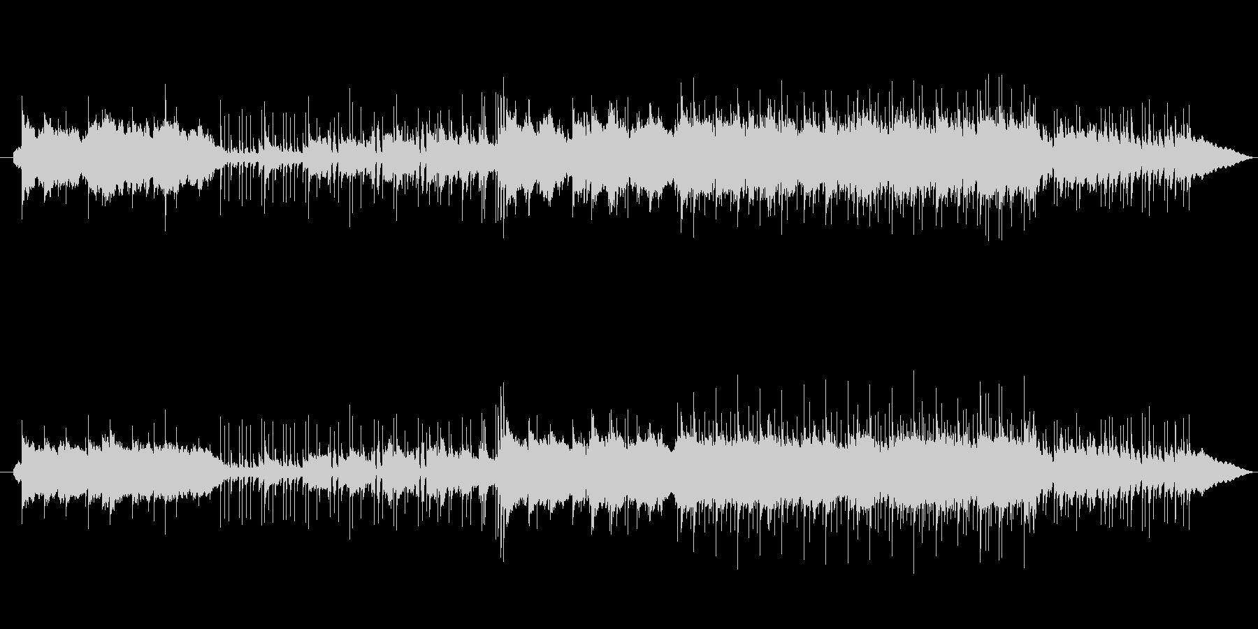 和風切ないバラードインストBGMの未再生の波形