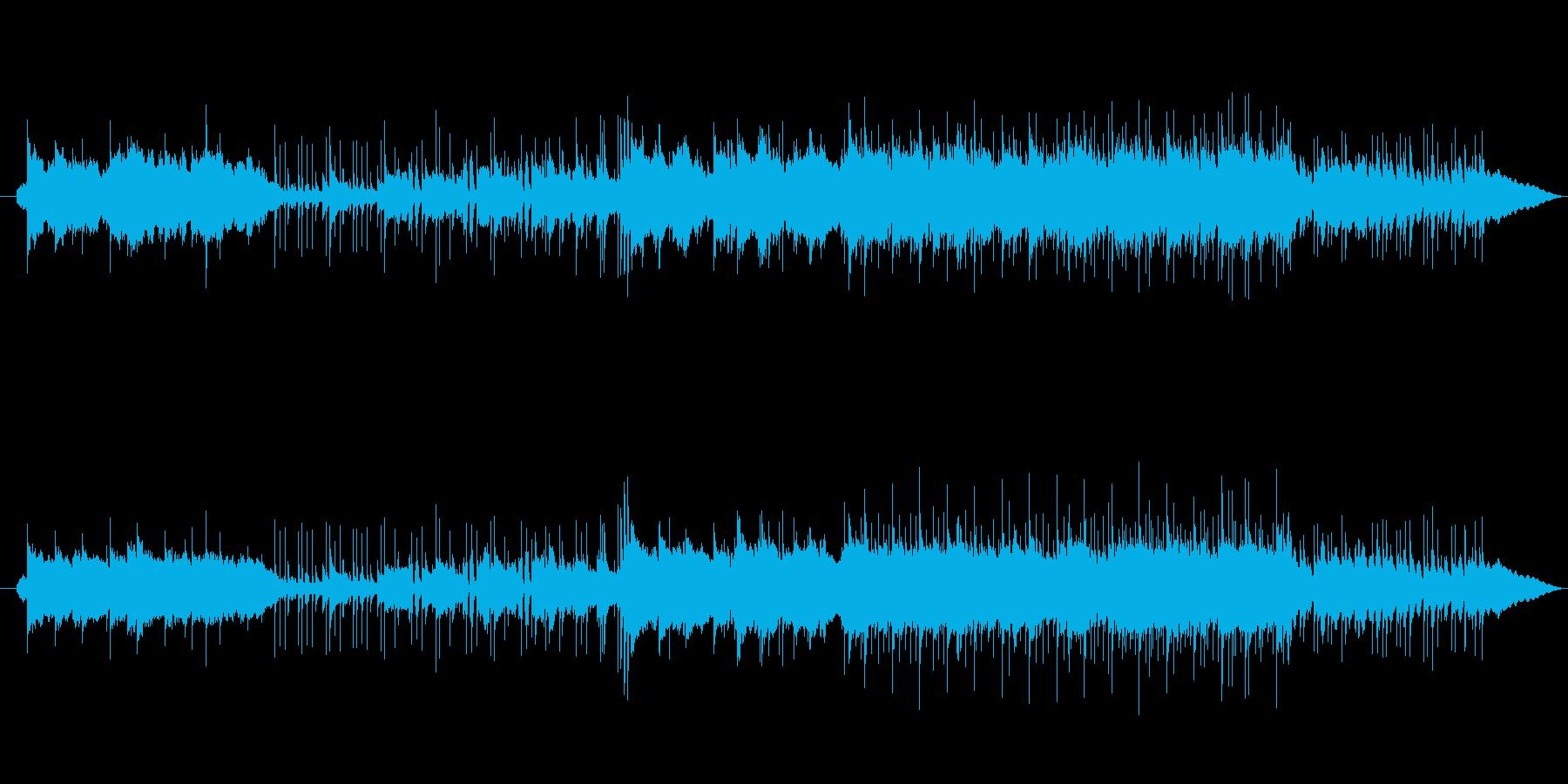 和風切ないバラードインストBGMの再生済みの波形