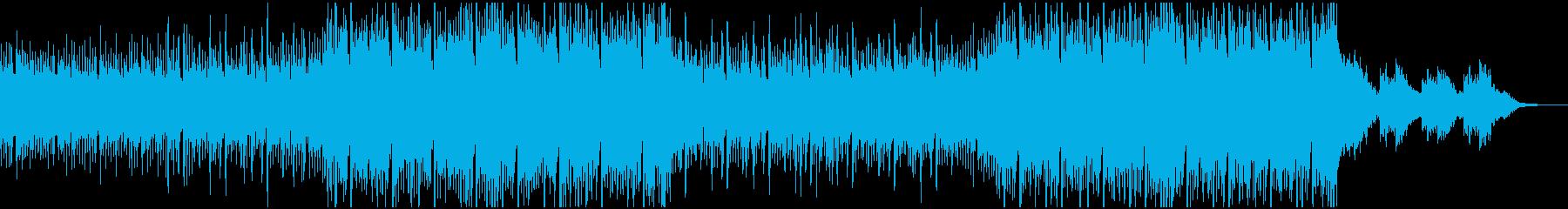ゆったりおしゃれなFuture Bassの再生済みの波形