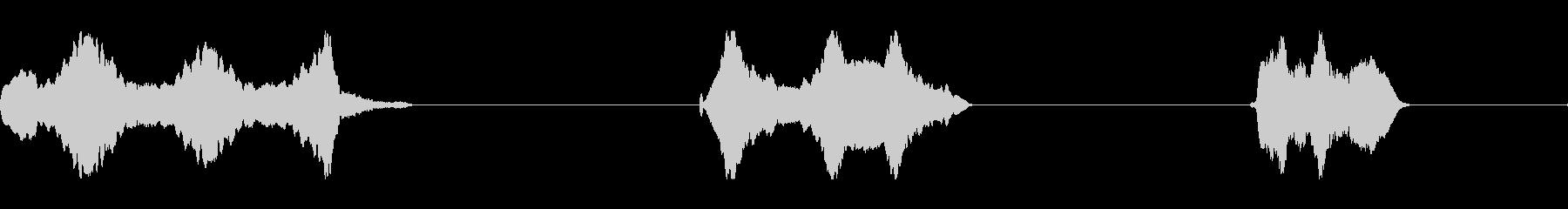 トーンシンセホイッスルwaveri...の未再生の波形